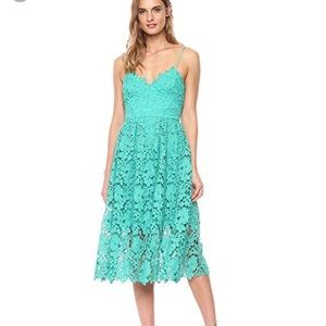 NWT Donna Morgan Sea Green Lace Dress